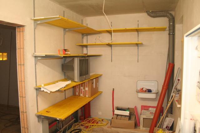 Holzregal selber bauen garage  Hausbau Schlägerei in der Stemmerner   unser Bautagebuch   Familie ...